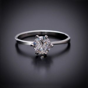 Faux Diamond Engagement Ring!